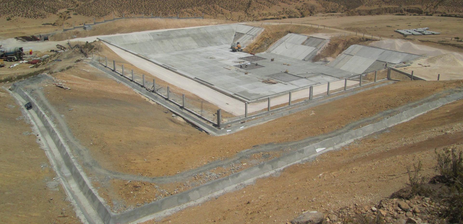 Bassins Boughanem & Mahjouba 20000m3